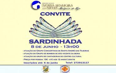 Sardinhada no Centro