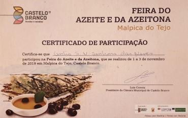 Centro Social na 12ª Feira do azeite e da azeitona